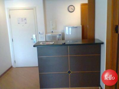 Flat/aparthotel de 1 dormitório à venda em Brooklin, São Paulo - SP
