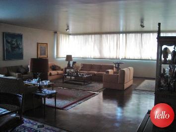 SALA AMPLA - Apartamento 4 Dormitórios