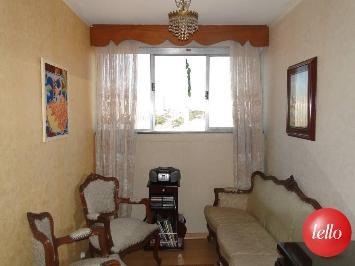 SALA DE ESTAR - Apartamento 3 Dormitórios
