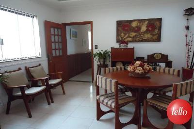 SALA DE ALMOÇO - Casa 3 Dormitórios