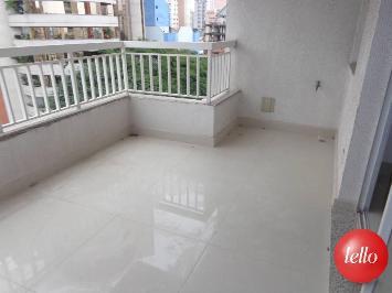 VARANDA - SALA - Apartamento 3 Dormitórios