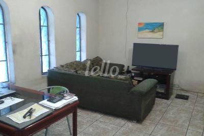 SALA DOIS AMBIENTES - Casa 3 Dormitórios
