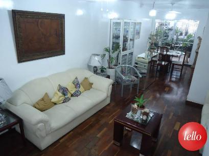 SALA TRÊS AMBIENTES - Casa 4 Dormitórios