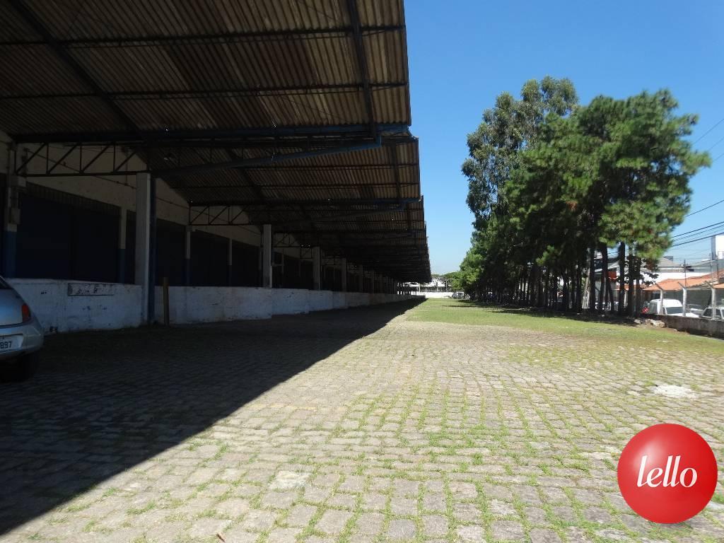 ÁREA EXTERNA - CARGA E DESCARGA - Galpão/Armazém