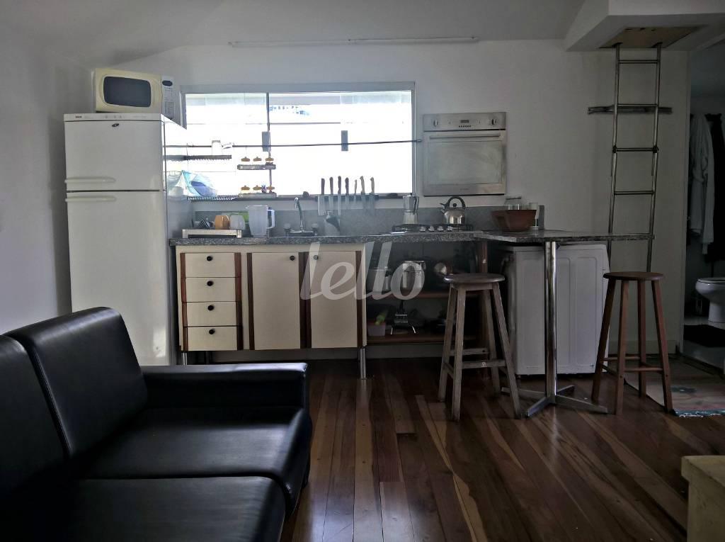 COZINHA/SALA - Casa 1 Dormitório