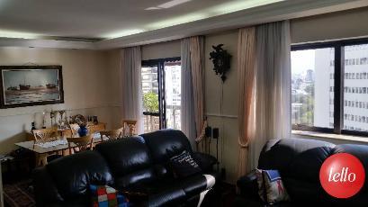 SALA DE ESTAR E JANTAR - Apartamento 4 Dormitórios