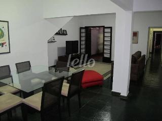 SALA DE ESTAR E JANTAR - Casa 2 Dormitórios