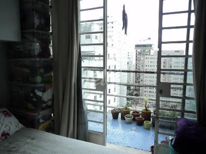 VISTA DORMITÓRIO - Apartamento 1 Dormitório
