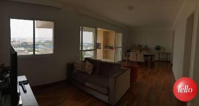 SALA DOIS AMBIENTES - Apartamento 3 Dormitórios