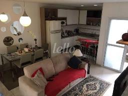 SALA DOIS AMBIENTES - Casa 2 Dormitórios