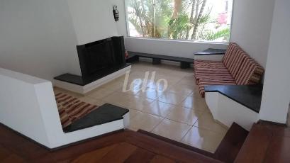 SALA LAREIRA - Casa 4 Dormitórios
