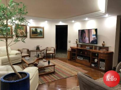 SALA DE ESTAR-- - Apartamento 4 Dormitórios