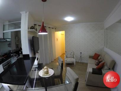 SALA 02 AMBIENTES - Apartamento 2 Dormitórios
