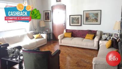 LIVING DE ESTAR - Apartamento 3 Dormitórios