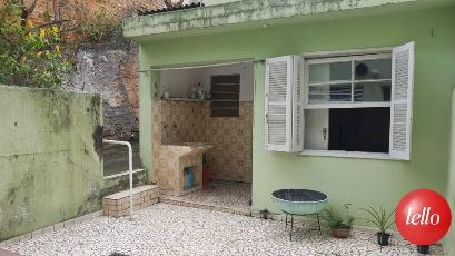 AREA SERVIÇO E DEPENDENCIA EMPREGADA - Casa 3 Dormitórios