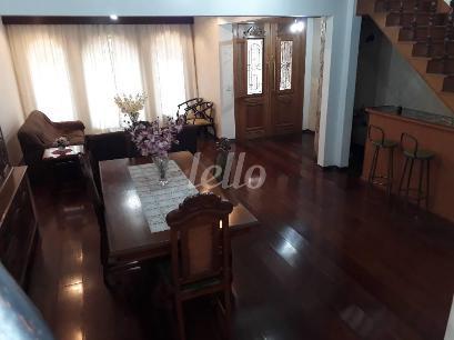 SALA 2 AMBIENTES - Casa 4 Dormitórios