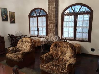 SALA LAREIRA - Casa 3 Dormitórios