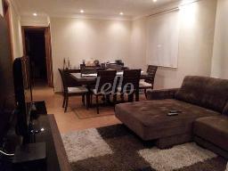 SALA DE DOIS AMBIENTES - Apartamento 3 Dormitórios
