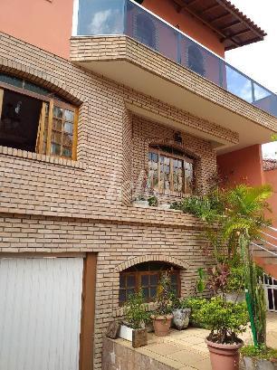 FACHADA FRENTE COM GARAGEM - Casa 3 Dormitórios