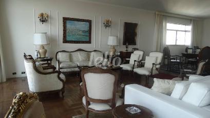 5SALA DE ESTAR - Apartamento 4 Dormitórios