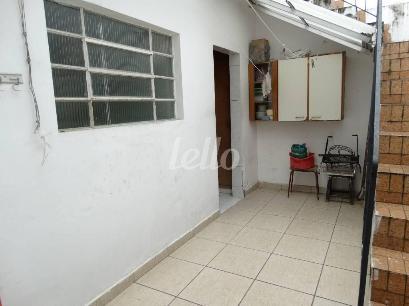 AREA DE SERVIÇO - Casa 2 Dormitórios
