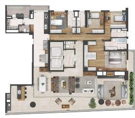 PLANTA - Apartamento 4 Dormitórios