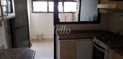 COZINHA E AREA - Apartamento 3 Dormitórios
