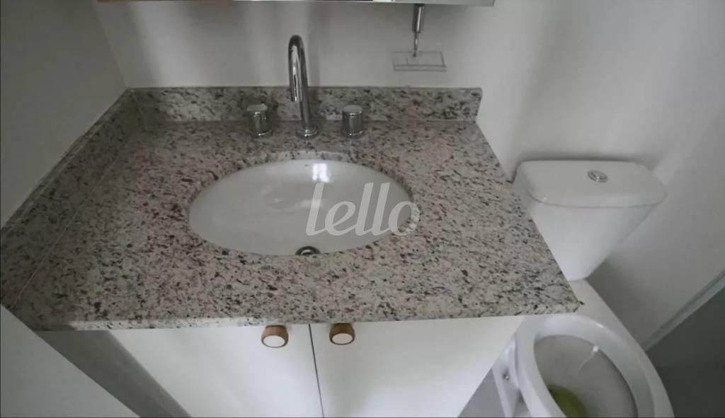 PIA BANHEIRO - Apartamento 1 Dormitório