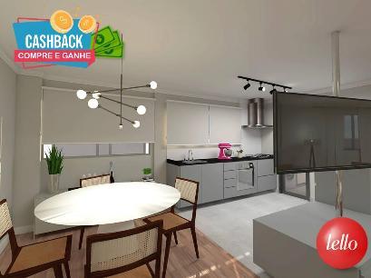 SALA DE JANTAR / COZINHA - Apartamento 3 Dormitórios