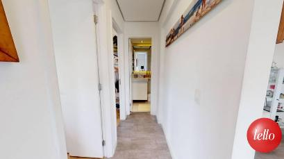 CORREDOR DE ACESSO AOS DORMITORIOS - Apartamento 3 Dormitórios
