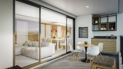 VARANDA-GOURMET - Apartamento 2 Dormitórios