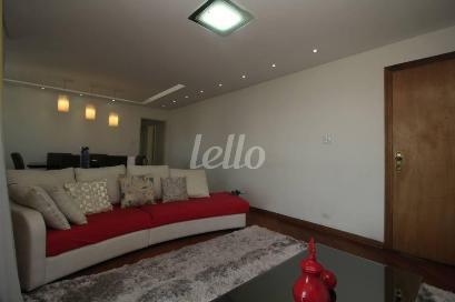 SALA DOIS AMBENTES - Apartamento 3 Dormitórios