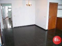 LIVING PARA COZINHA E ÁREA DE SERVIÇO - Apartamento 3 Dormitórios