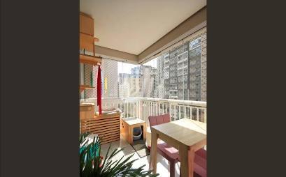 VARANDA - Apartamento 1 Dormitório