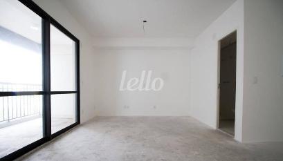 SALA E QUARTO - Apartamento 1 Dormitório