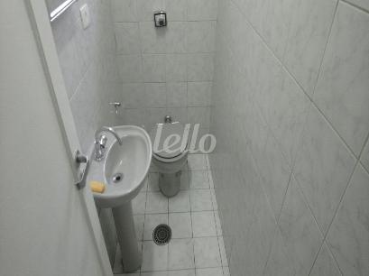 BANHEIRO SOCIAL   - Sala / Conjunto