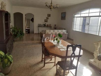 SALA DE JANTAR E ESTAR - Casa 4 Dormitórios