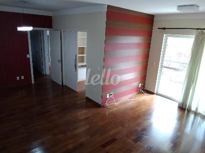 SALA 2 AMBIENTES COM SACADA  - Apartamento 3 Dormitórios