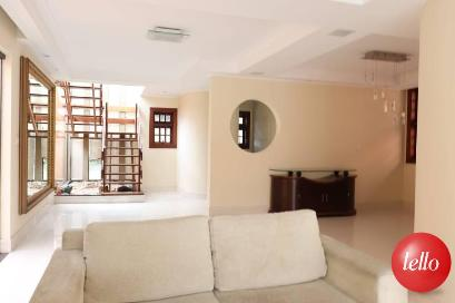 SALA DE ESTAR E JANTAR - Casa 4 Dormitórios