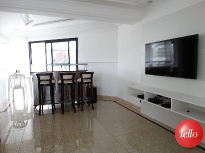 SALA NO PISO SUPERIOR - Apartamento 3 Dormitórios