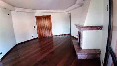 SALA DE LAREIRA - Apartamento 4 Dormitórios
