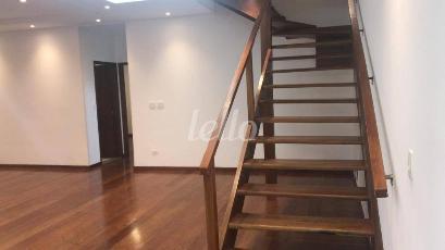 SALA E ACESSO AOS DORMITORIOS  - Casa 4 Dormitórios