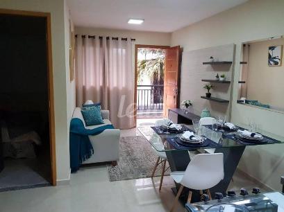 SALA ESTAR DECORADO - Apartamento 2 Dormitórios