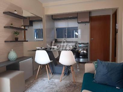 SALA JANTAR E COZINHA AMERICANA - Apartamento 2 Dormitórios