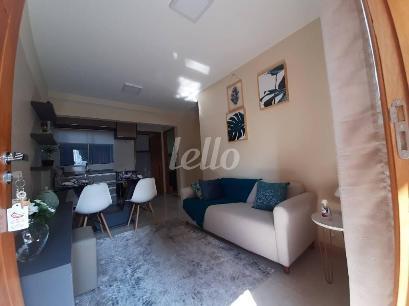 SALA ESTAR E COZINHA AMERICANA (MODELO) - Apartamento 2 Dormitórios