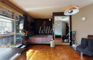 SALA/QUARTO - Apartamento 1 Dormitório