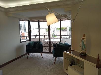 SALA E VARANDA - Apartamento 4 Dormitórios