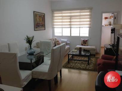 SALA, JANTAR E ESTAR  - Apartamento 3 Dormitórios