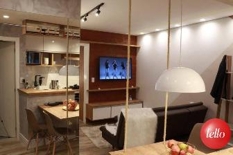 SALA ENTRADA - Apartamento 1 Dormitório
