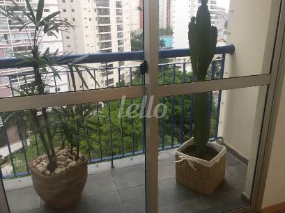 VARANDA SALA DOIS AMBIENTES - Apartamento 2 Dormitórios